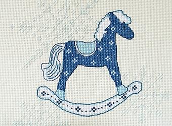 Лошадка схема вышивки крестом