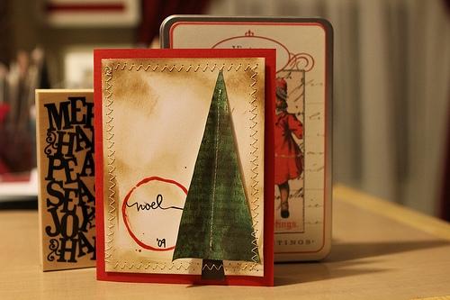 Скрапбукинг новогодние открытки своими руками