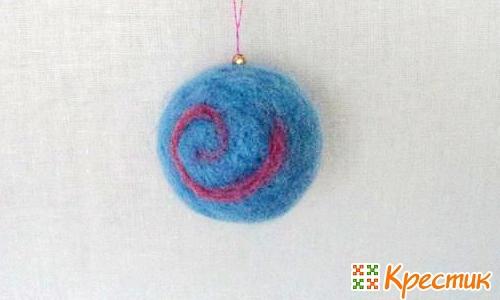 Новогодние игрушки шары своими руками