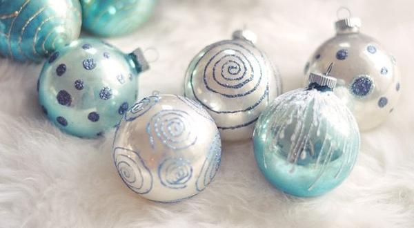 Роспись новогодних шаров своими руками
