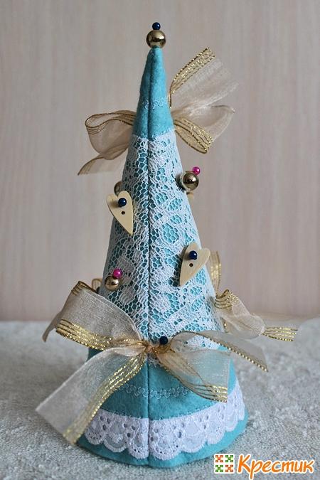 Новогодняя елка своими руками на фото