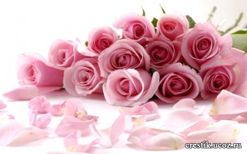 Букет цветов для любимой девушки фото