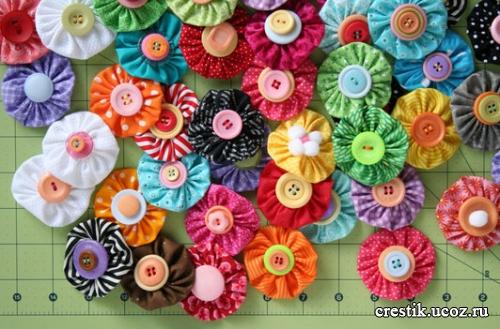 Искусственные цветы своими руками из бумаги фото 693
