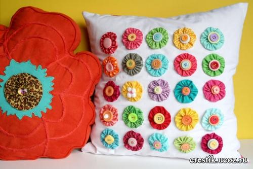 Как сшить подушку своими руками
