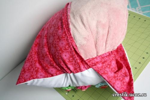 Красивая подушка своими руками