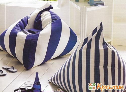 Подушки на сиденья своими руками