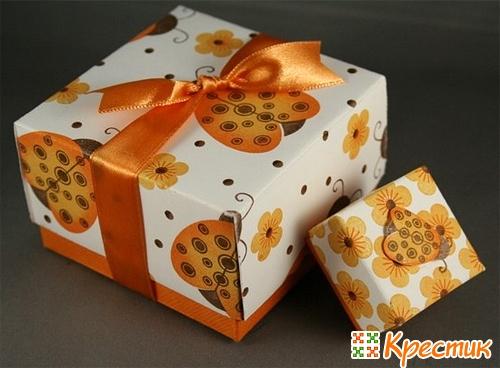 Коробка для подарков своими руками