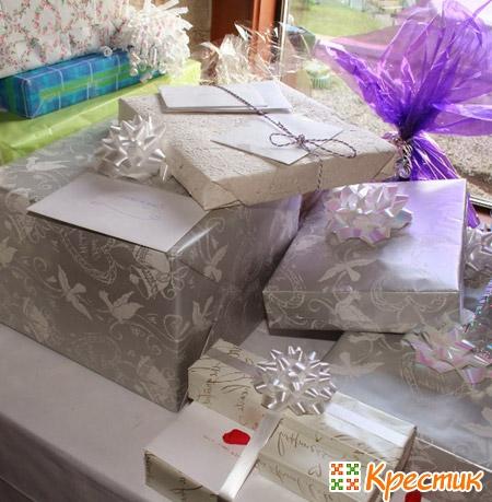 Подарки молодоженам