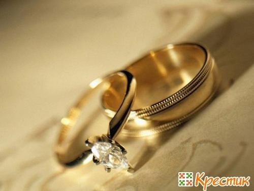 Кольца на золотую свадьбу