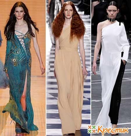 Платья Versace, Victor&Rolf и Givenchy