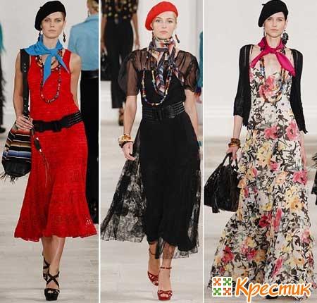 Платья весны 2013 от Ralph Lauren