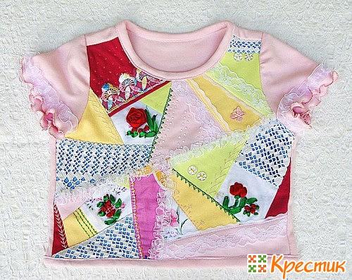 Детская одежда пэчворк