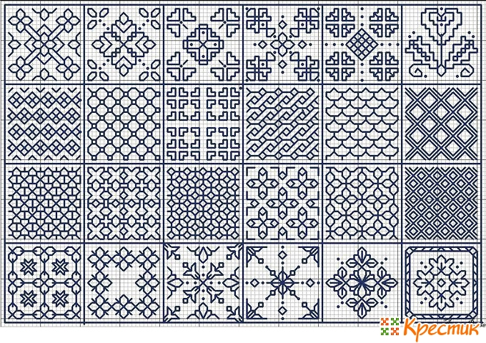 пятиклинка орнамент