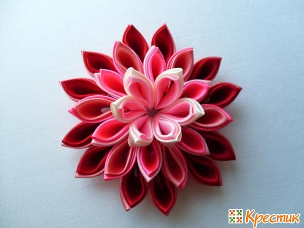 канзаши цветы картинки: