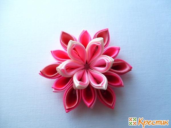 Канзаши цветок мастер класс