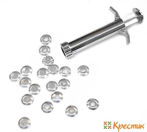 Шприц-экструдер для керамической флористики