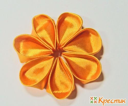 Канзаши цветы для начинающих