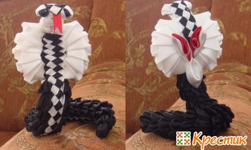 Змея канзаши