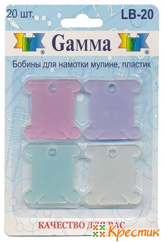 Пластиковые бобины для мулине