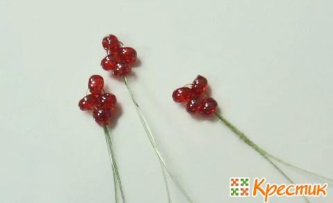 МК канзаши цветы