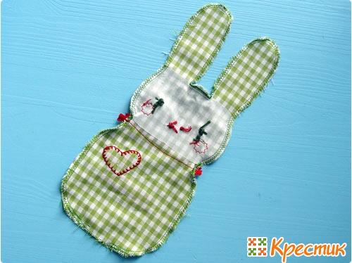 Как шить пасхального кролика