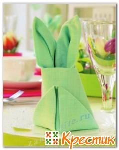 Салфетки пасхальный кролик