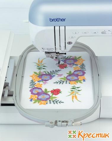 Рисунок для вышивания на машинке