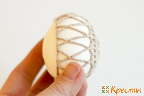 Пасхальное яйцо крючком мастер-класс