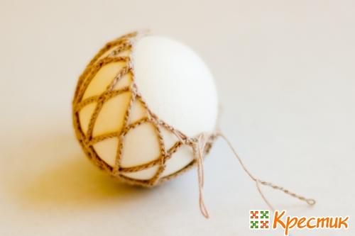 Пасхальное яйцо мастер -класс