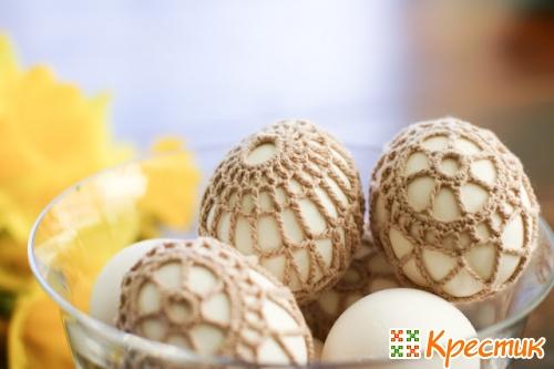Пасхальные яйца красивый сувенир