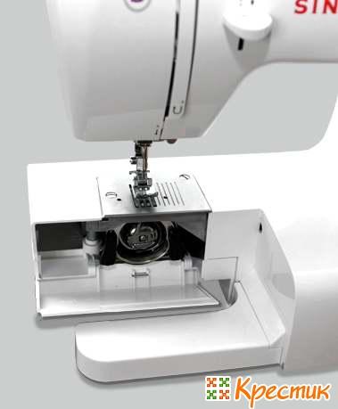 Швейная машинка с вертикальным челноком