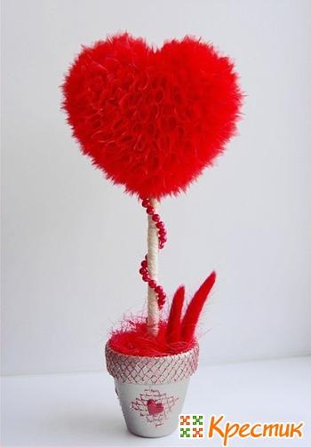 Топиарий сердце