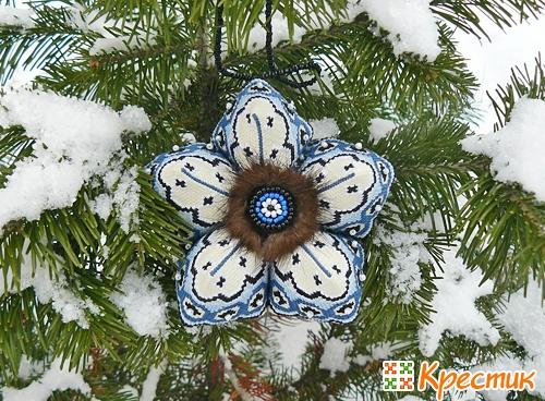 Кривулька - снежинка