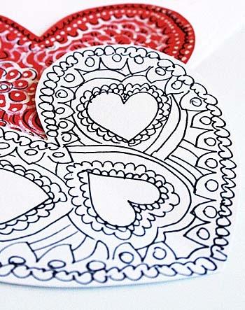 Валентинки своими руками из бумаги