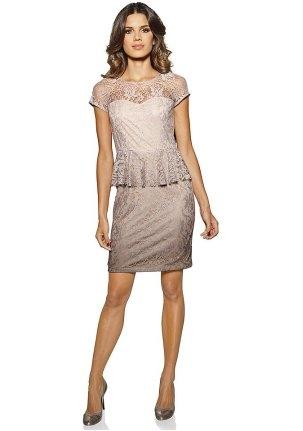 Кружевное платье на день влюблённых