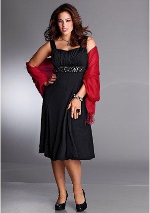 Платье для полных на день Святого Валентина