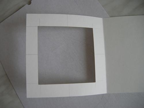 Основа для открытки из бумаги