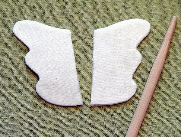 Крылья для сердечка