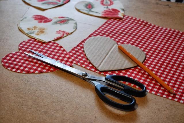Материалы для изготовления сердечек