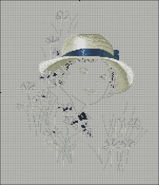 Вышивка из фото создать схему
