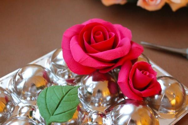 Как сушить розы из полимерной глины
