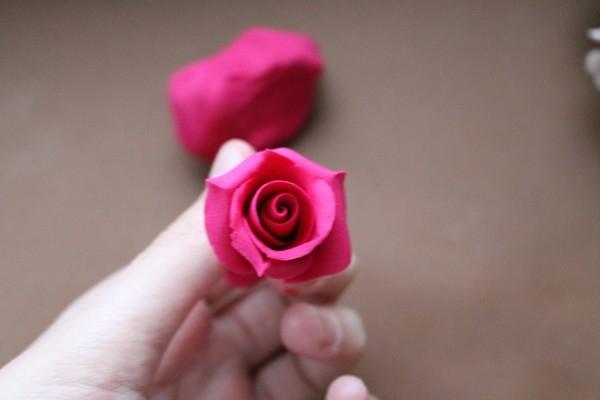 МК цветы из полимерной глины