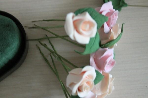 Реалистичные цветы из полимерной глины