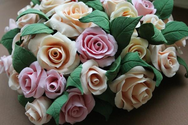 Восхитительное сердце из роз