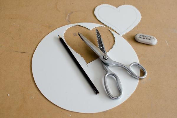 Инструменты для создания валентинки