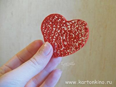 Сердечки валентинки своими руками