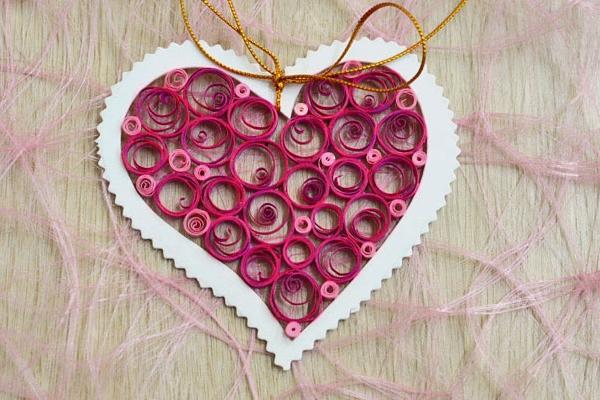 Валентинки своими руками квиллинг