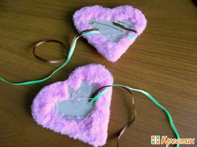 Альбом в форме сердца