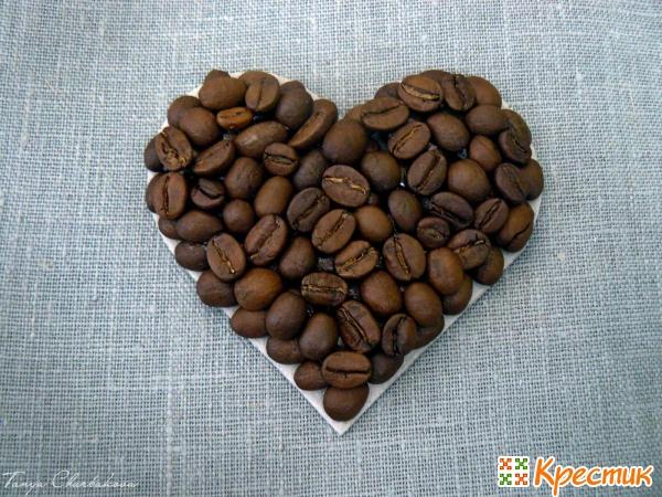 Магниты из зерен кофе своими руками