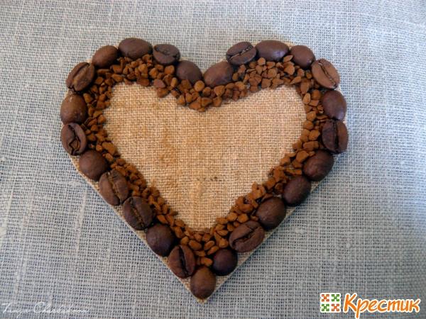 Магнит из кофейных зерен своими руками мастер класс - Belbera.Ru